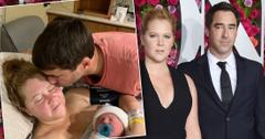 amy schumer gives birth