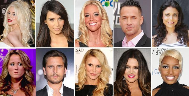 //most loved and hated reality stars wide getty