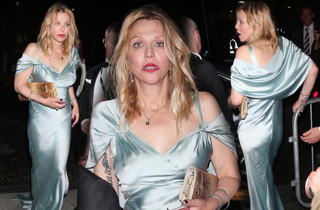 Courtney Love Drunk Party