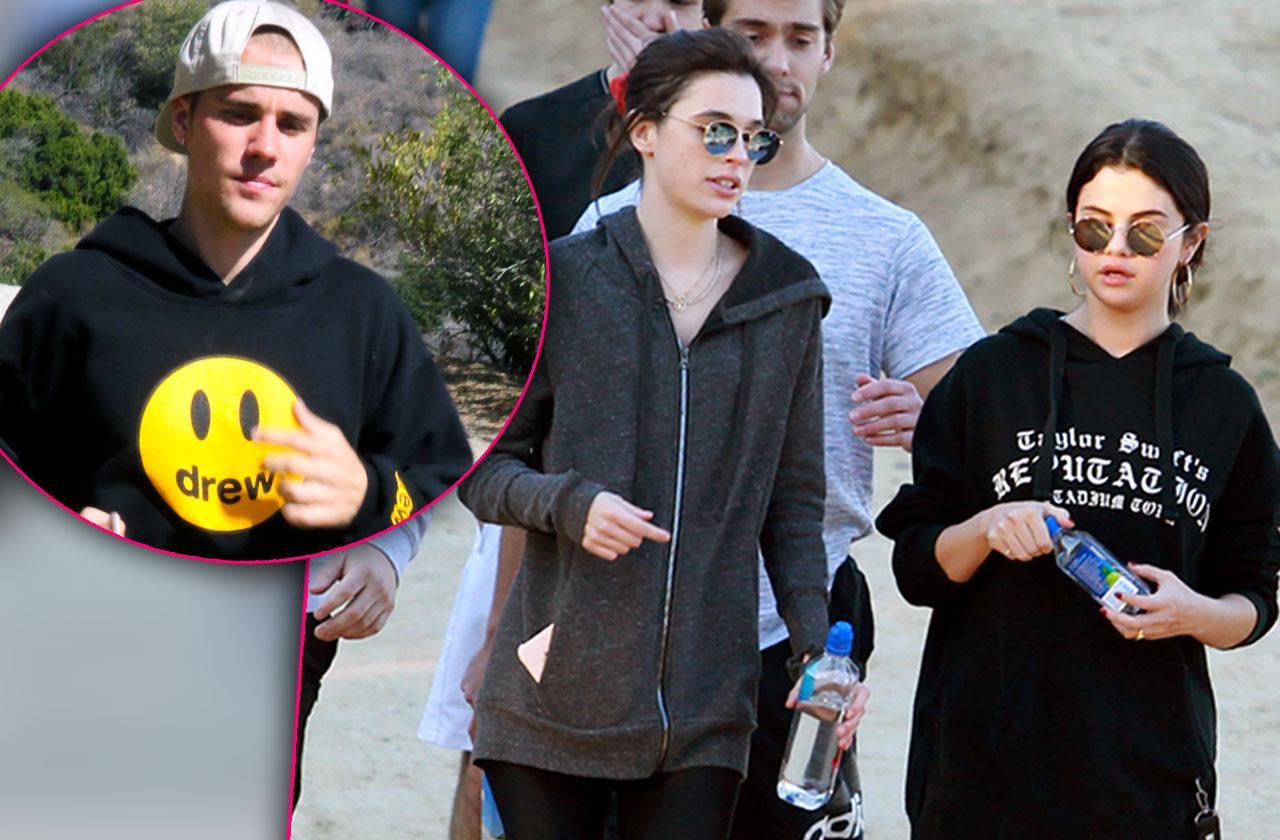 Selena Gomez Hiking Friends Taylor Swift Sweatshirt