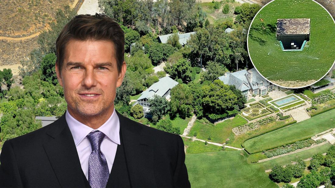 Scientologists Construct Bunker In Tom Cruise's Secret Getaway