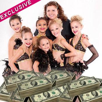 //dance moms cashing in tlc