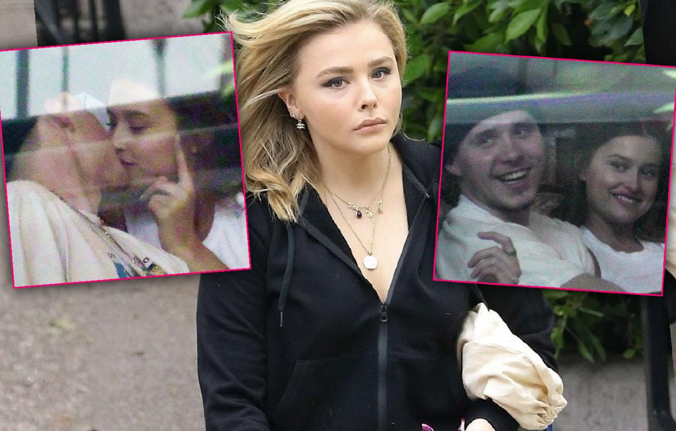 Brooklyn Beckham Chloe Moretz Split He Kisses Playboy Model