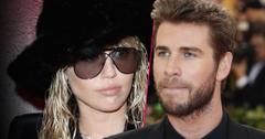 Miley Cyrus Sunglasses and Hat Split with Liam Hemsworth