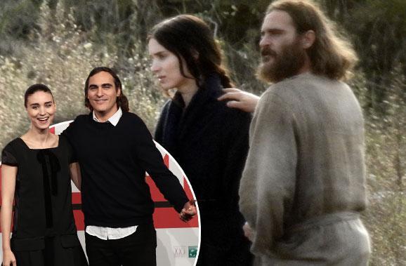 Joaquin Phoenix Rooney Mara Dating Rumors Movie Set