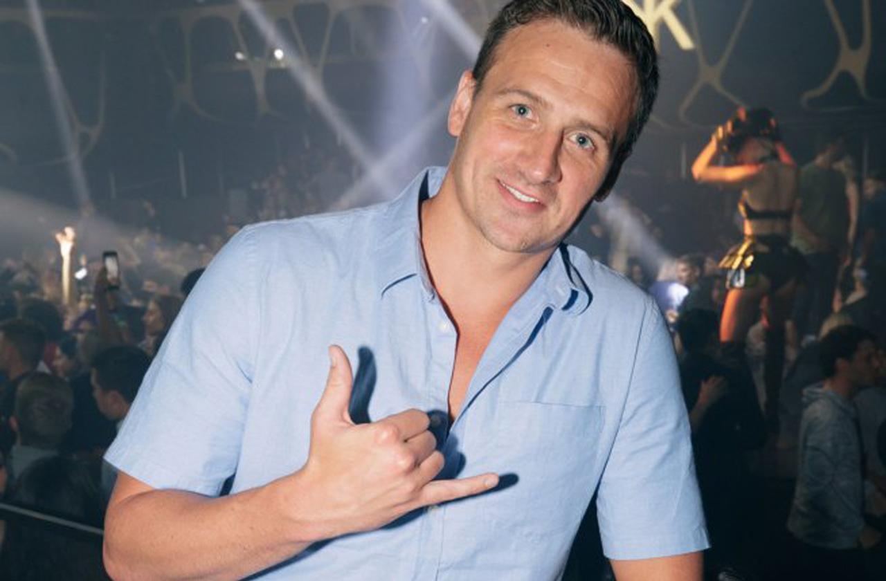 //Ryan Lochte Party Hakkasan Las Vegas Bachelor Birthday pp