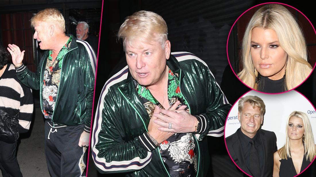Joe Simpson Spotted After Jessica Simpson's Book Bombshells
