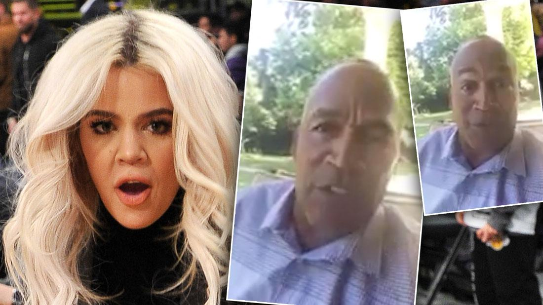 O.J. Simpson Denies He's Khloe Kardashian's Dad In Twitter Video