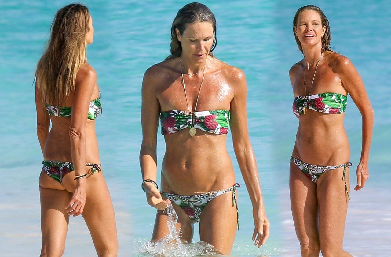 Supermodel Elle Macpherson Stuns In Sexy Bikini At Age 53
