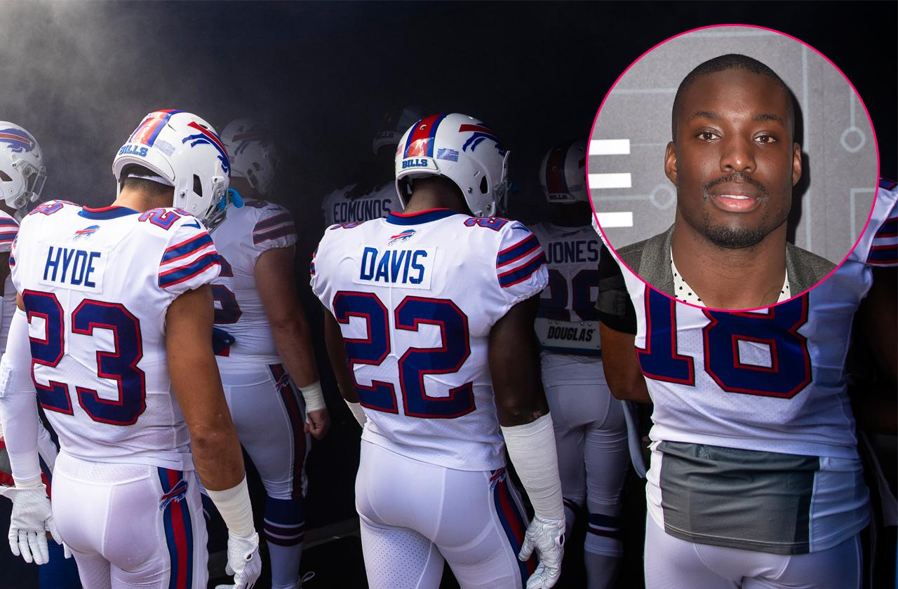 //buffalo bills vontae davis quits team at half time pp