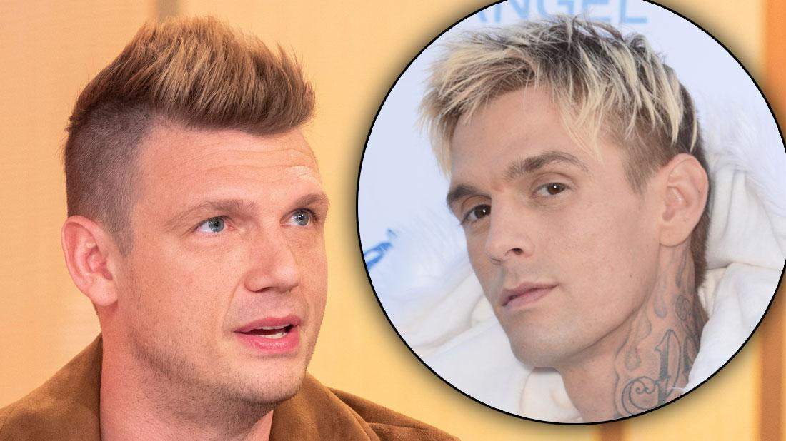 Nick Carter Looking Serious Feud With Brother Aaron Carter