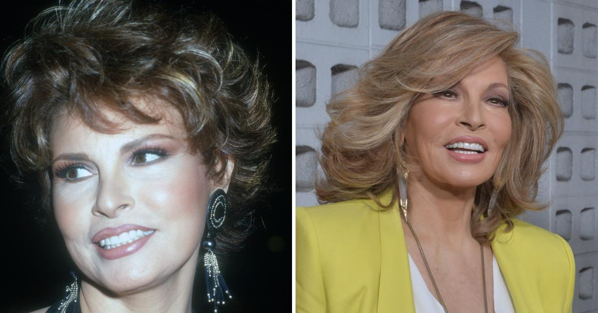 raquel welch spotted first time n  years pp