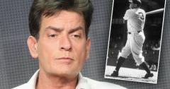 Charlie Sheen HIV Broke Selling Babe Ruth Ring