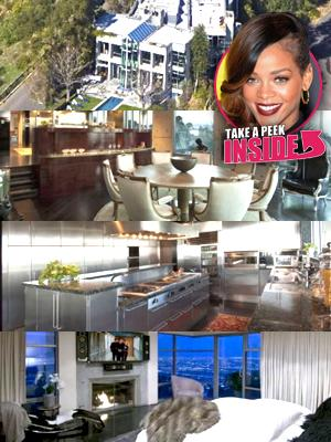 //queen of the hill rihanna rents  million l a fortress tall