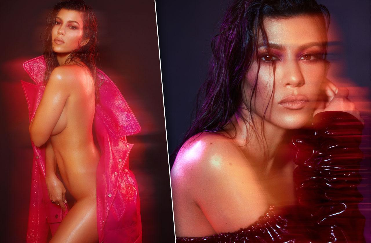 //kourtney kardashian poses nude photos v magazine pp