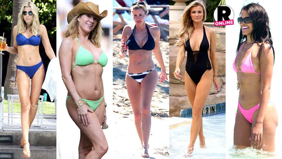 Bethenny Frankel Bikini Ramona Singer Real Housewives