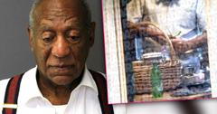 //bill cosby busted sneaking food prison penne white wine sauce pp