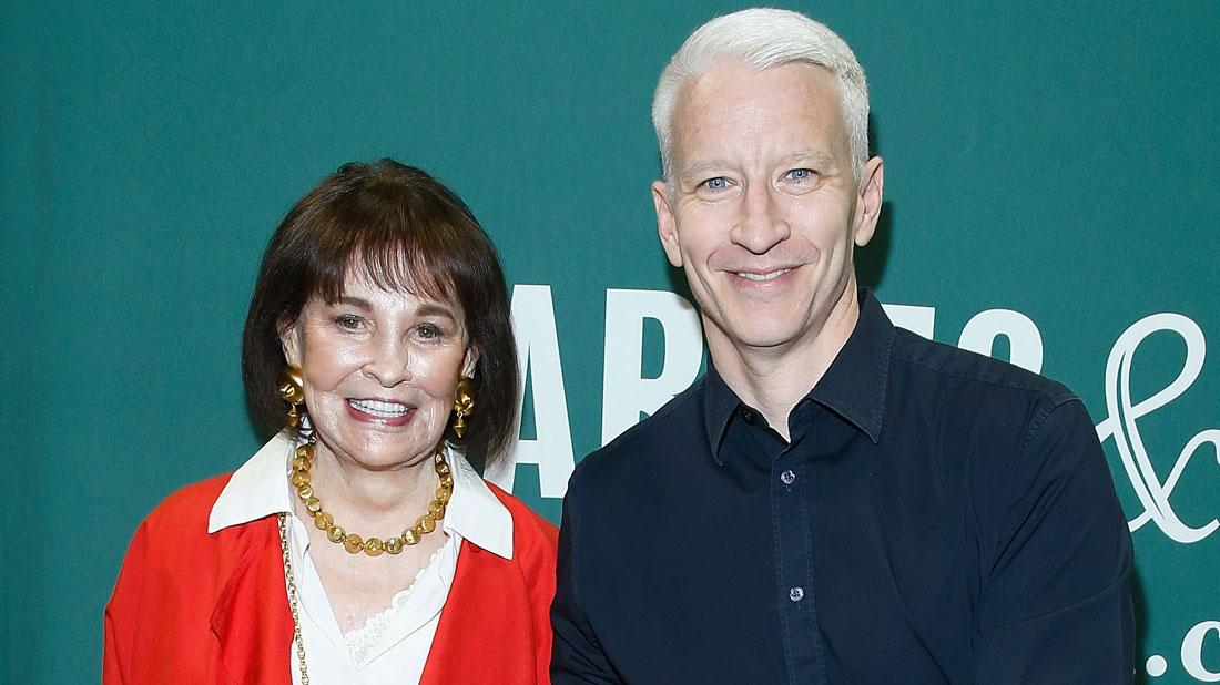 Anderson Cooper Shares Last Moments In Tribute To His Late Mother