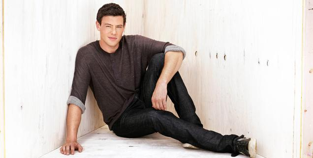 //cory monteith wide getty