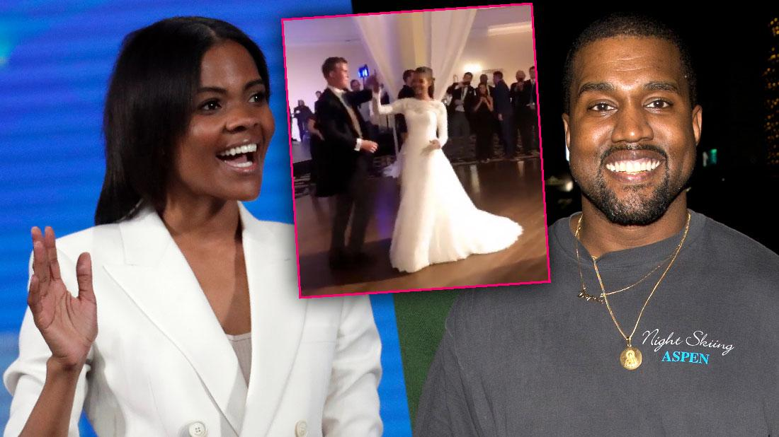 Kanye West Conservative Pal Candace Owens Gets Married