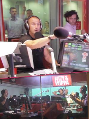 //fitzy weppa australia radio show quit april fools tall