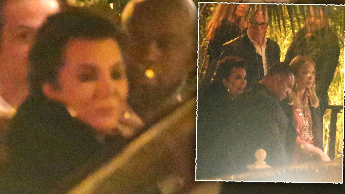 Kris Jenner Corey Gamble Share Romantic Date Night