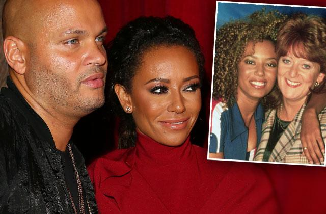 Mel B Mom Reunion Husband Belafonte Feud Spice Girls