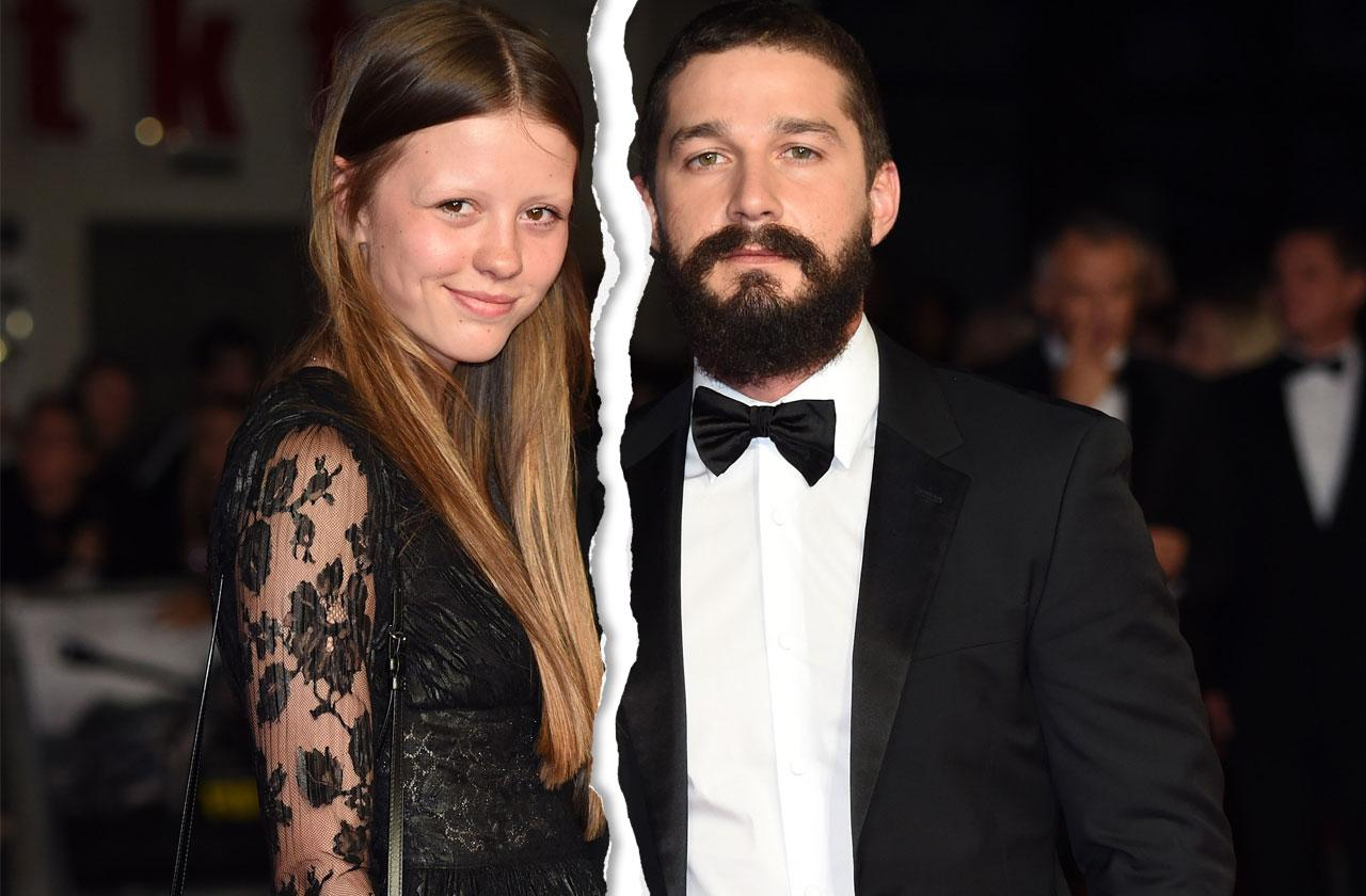 Shia LaBeouf's Wife, Mia Goth, Demands He Sober Up Or She's Out!
