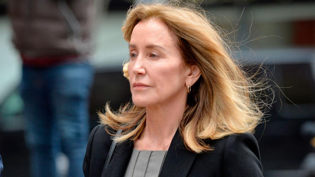 Felicity Huffman Appears In Court Amid College Admissions Bribery Scandal
