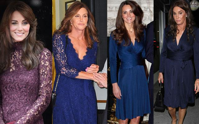 Caitlyn Jenner Kate Middleton Style Twins