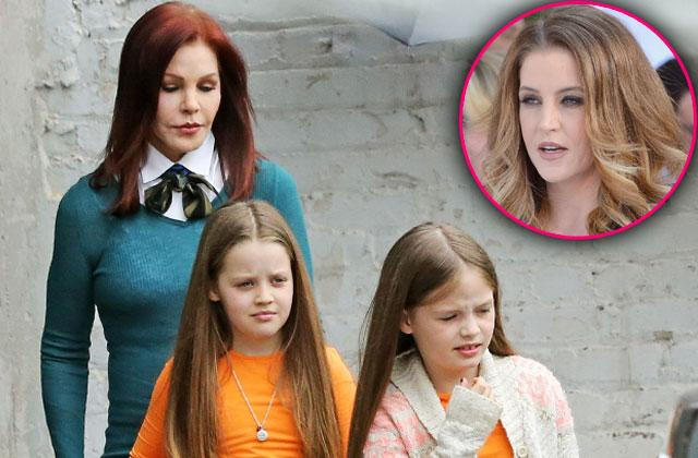 //lisa marie presley twins girls priscilla presley protective custody pp