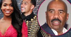 Steve Harvey Daughter Engaged Memphis Depay Ex