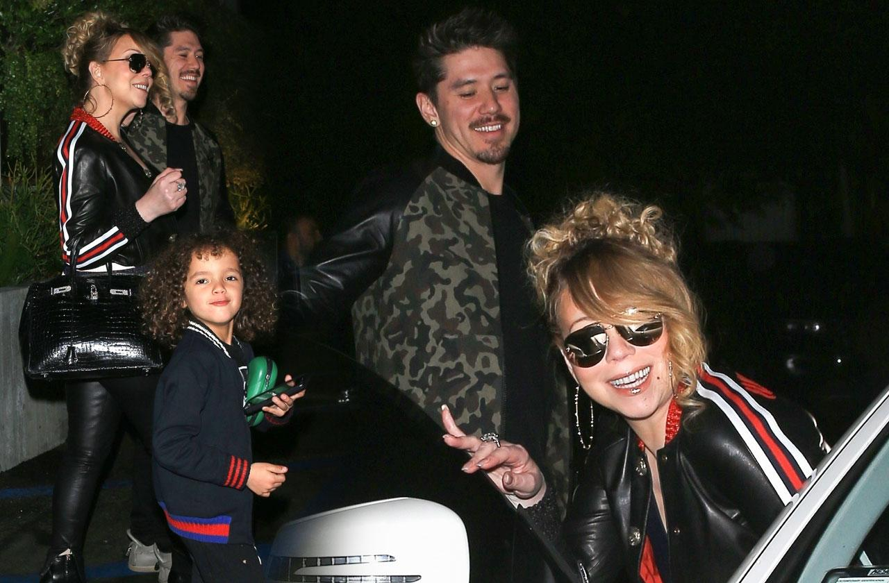 Mariah Carey Son Bryan Tanaka Dinner