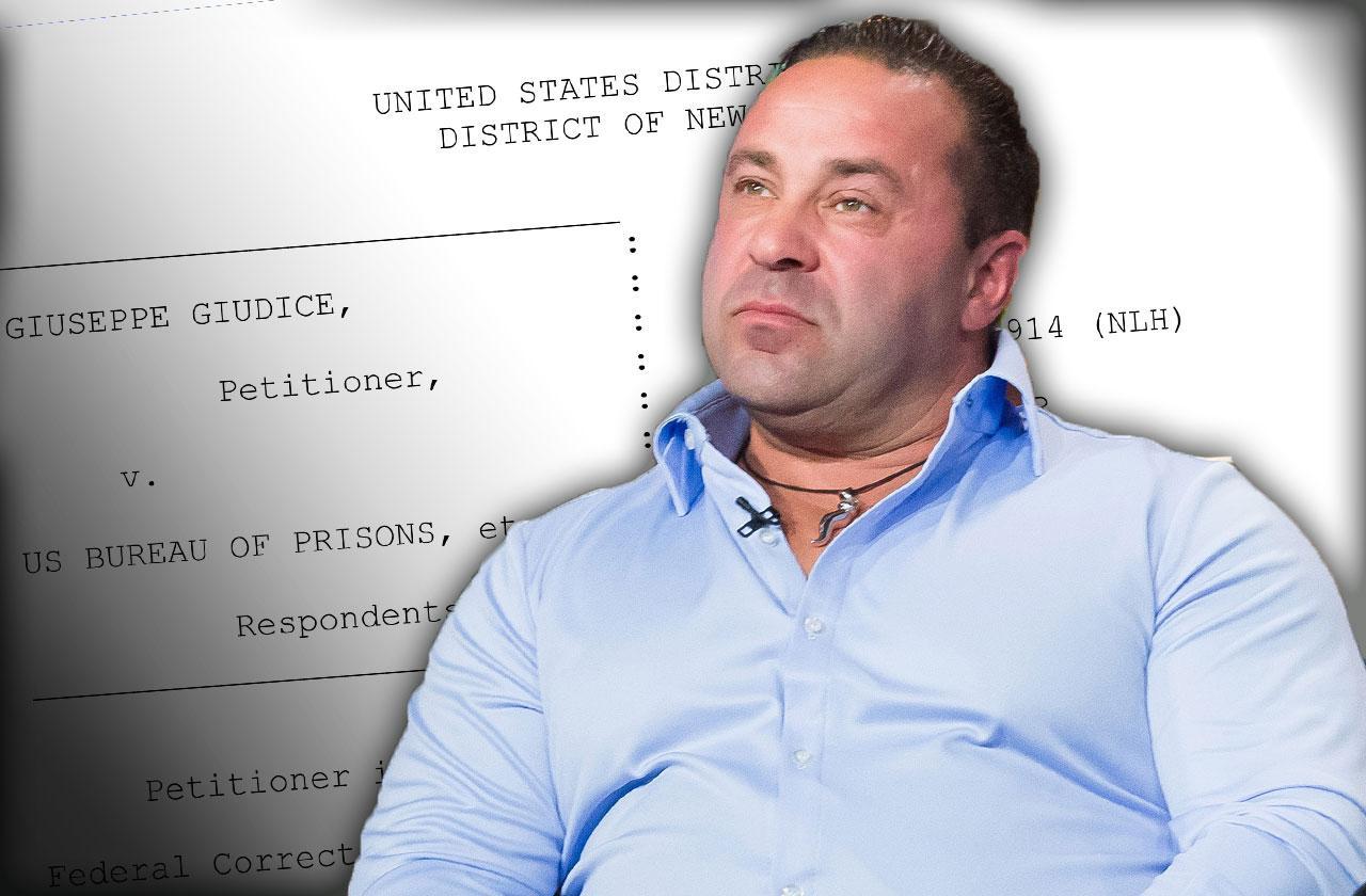 joe giudice prison sentence preventing treatment lawsuit continued