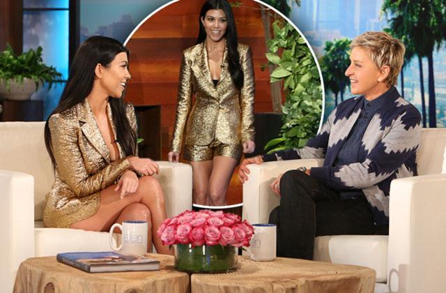 //kourtney kardashian ellen degeneres show justin bieber dating rumors pp