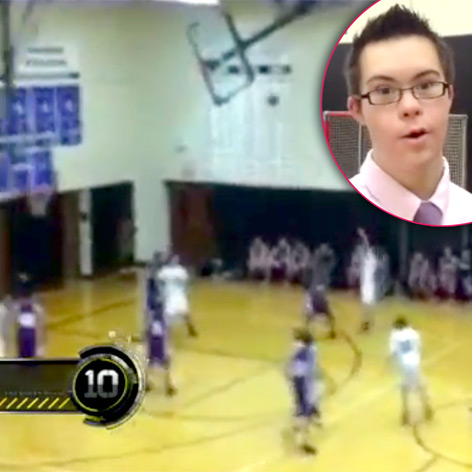 //down syndrome kid basketball