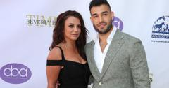 Britney Spears and Sam Asghari attend Daytime Beauty Awards Luncheon.
