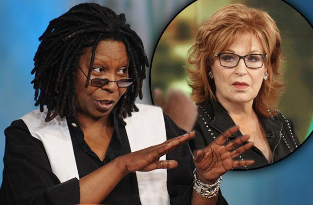 The View Whoopi Goldberg Joy Behar Fighting Show