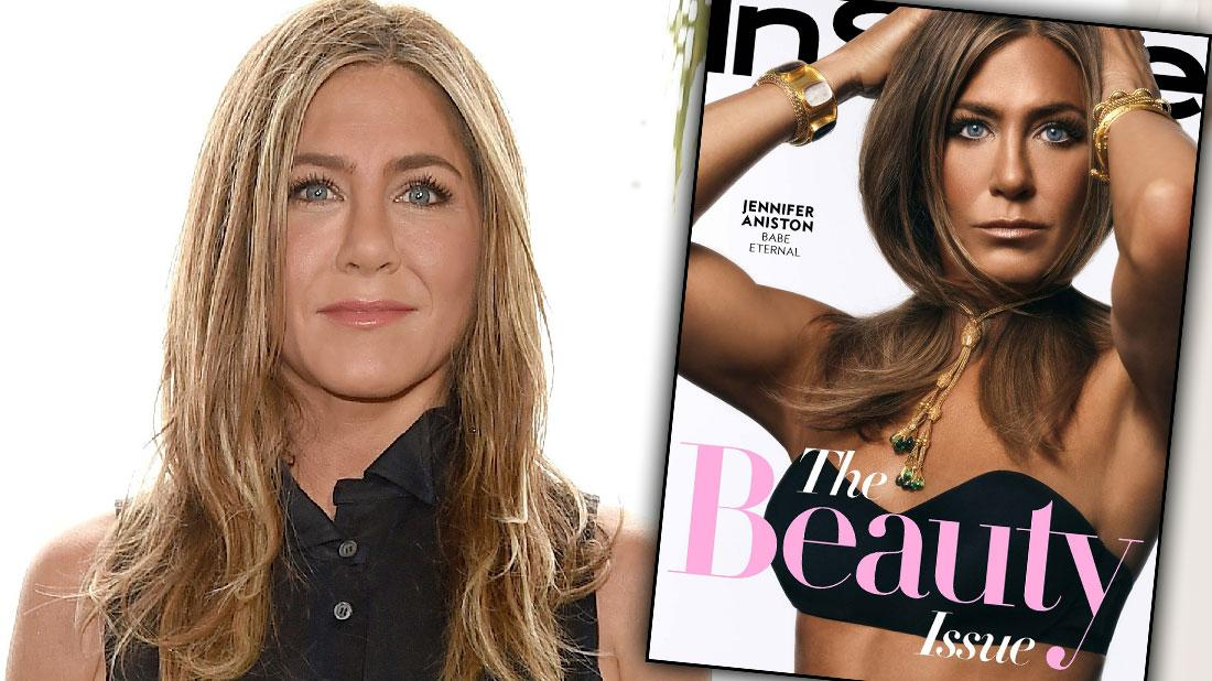 Jennifer Aniston Poses For Cover Shoot For InStyle Magazine