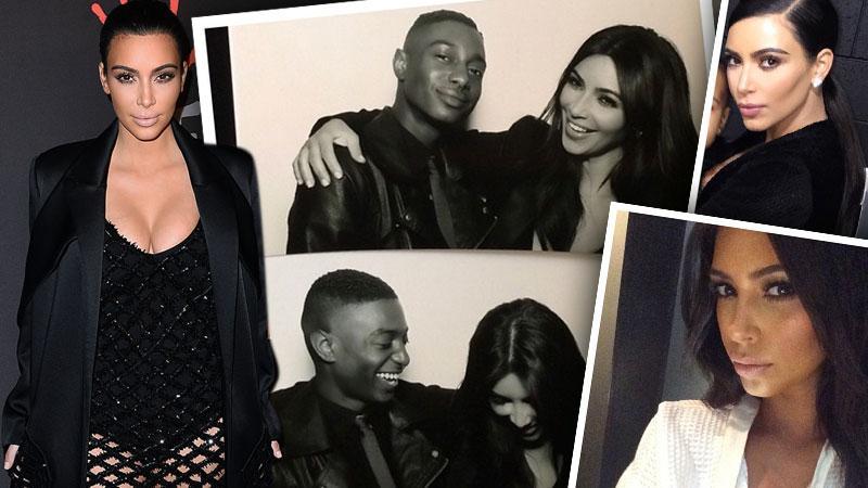 Kim Kardashian Smiling Causes Wrinkles