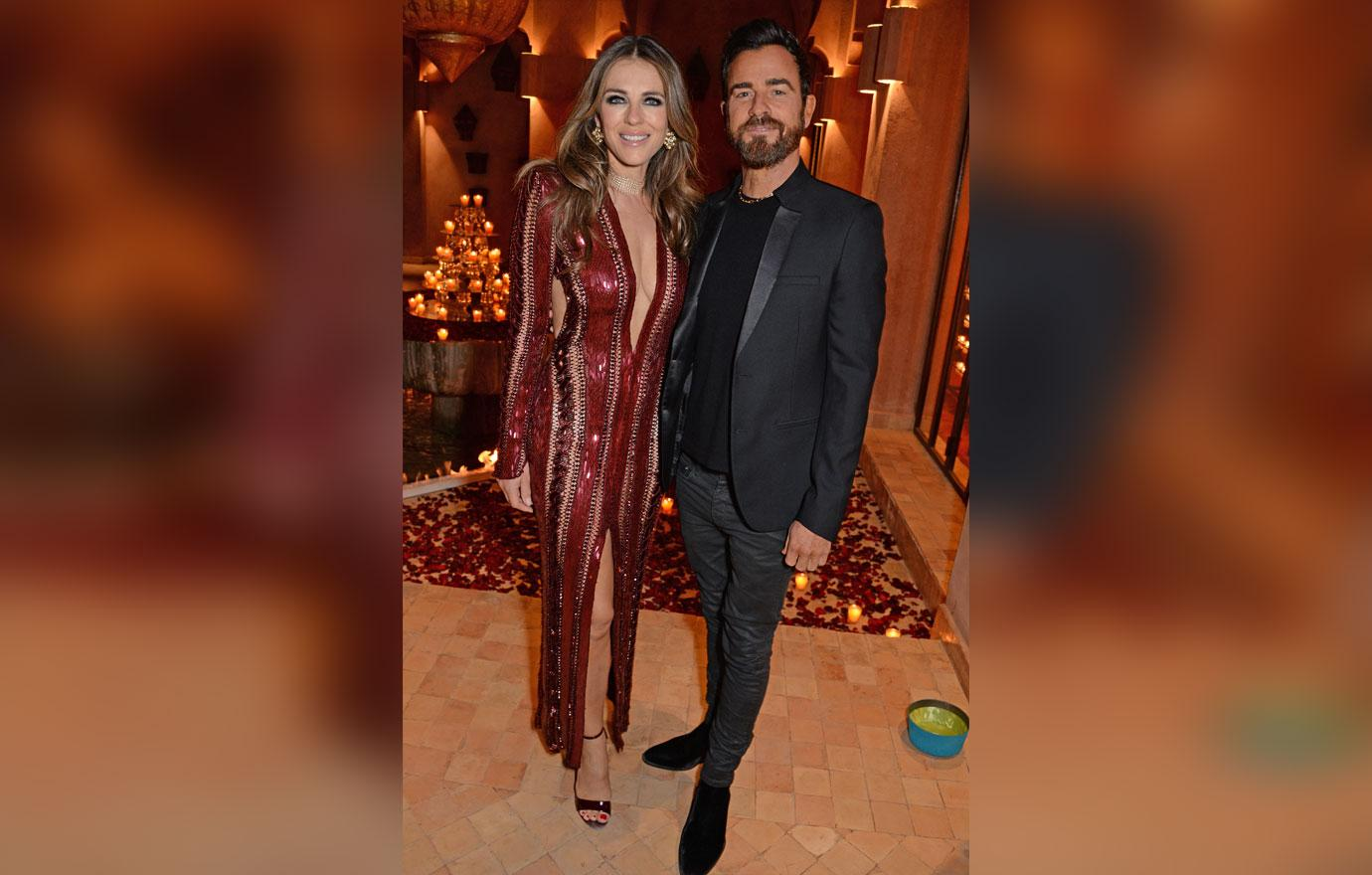 Elizabeth Hurley and Justin Theroux Spark Dating Rumors