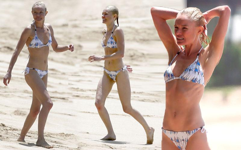 Kate Bosworth Bikini Photos Blue Crush Beach