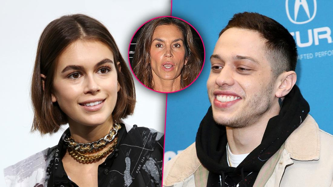 Pete Davidson & Kaia Gerber Flirty Angry Cindy Crawford Have Secret Rendezvous At 18-Year-Old's Apartment