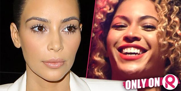 //kim kardashian beyonce new botox wide