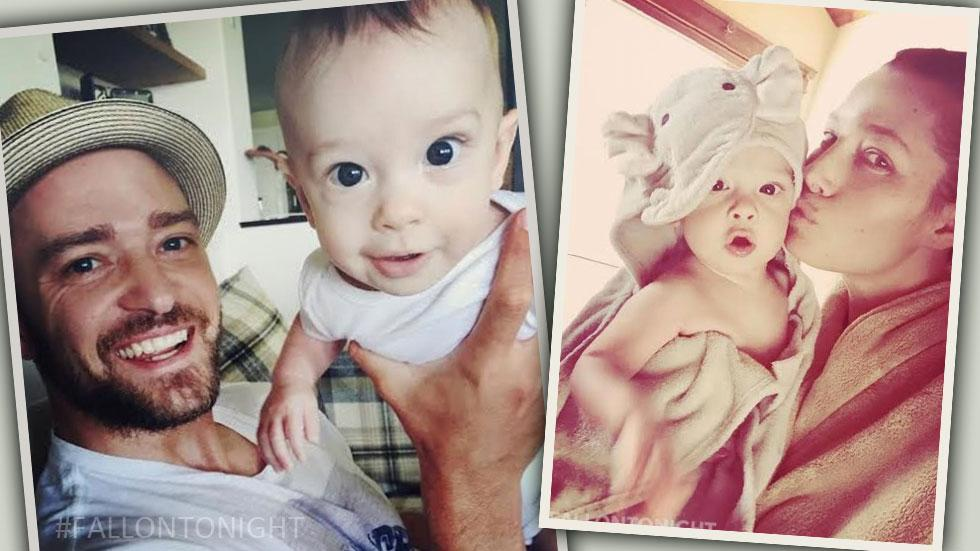 Justin Timberlake Baby Silas Photos