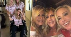 RHOC Tamra Judge Breaks Foot Naked Mexico