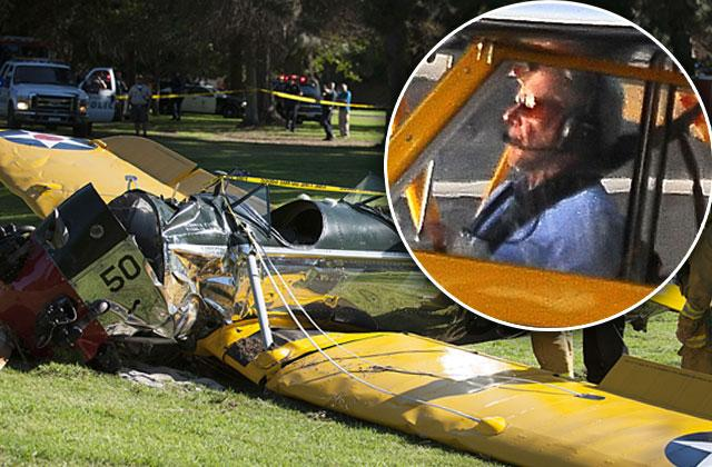 //Harrison ford near miss plane accident pp