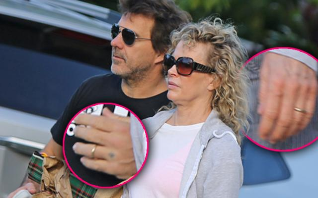 Kim Basinger And Boyfriend Wedding Rings