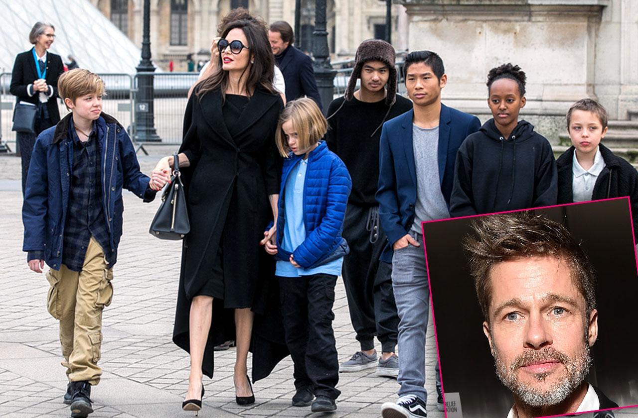 Brad Pitt Angelina Jolie Divorce Custody Trial