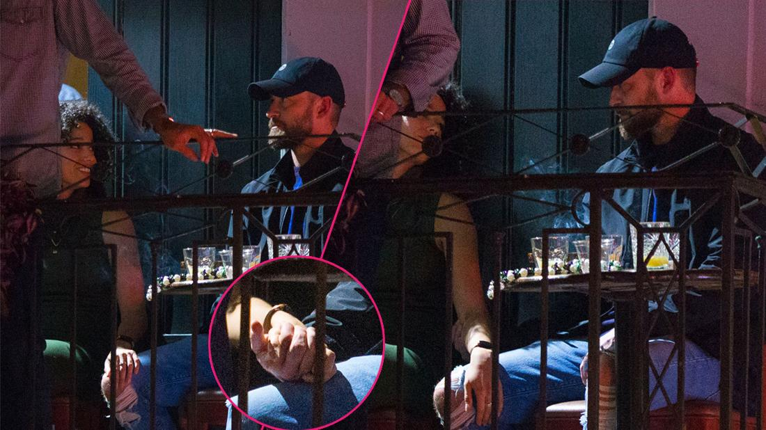 Justin Timberlake's Security Ban Photos After Drunken Night Out With Sexy Costar